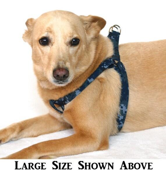 U.S. Navy NWU Military - Large Step In Dog Harness
