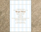 Simple Bridal Shower Invitation - Party Invitation, Bridesmaid Brunch