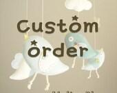 """Custom order for ''Rachel"""""""