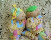 Dolls/baby puppets/Christmas Gift/Children/Toys/Handmade Doll Puppets/Twin Dolls