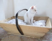CUSTOM LISTING for Claire Authentic French Trug Cat Bed