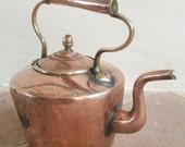 French Vintage Copper Kettle