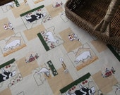 Large French Farmhouse Farmyard Table Cloth