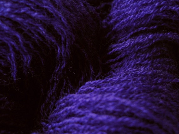 MERINO SALE - Lace Yarn - Ultra-Violet - Fine Upcycled Yarn
