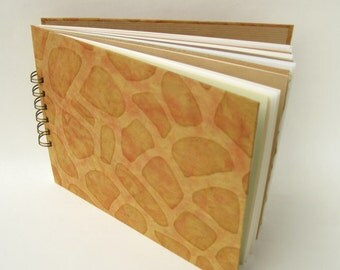 Journal mixed paper pages with pebble patterned covers