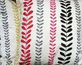 Beanstalk red 18 inch handmade cushion pillow cover