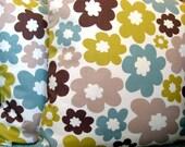 Nordic daisy pistachio 18 inch handmade cushion pillow cover