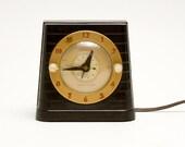 Clock - Art Deco, Telechron, Switch Alarm
