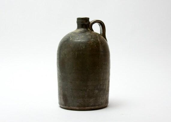 Jug - Pottery, Southern, Glaze, Antique