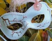 Cherry Blossom Masquerade Mask