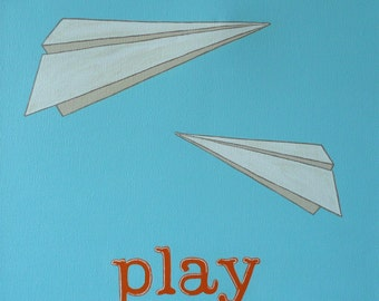 Popular items for paper airplane on Etsy