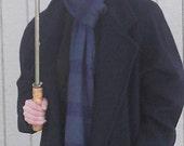 Sherlock Holmes Inspired Hand Knitted Scarf - Custom Order