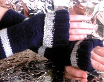 Ravenclaw Inspired Wrist Warmers