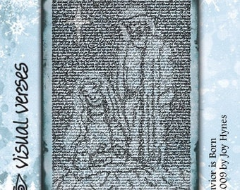 "Christmas Cards 10 pack  ""A Savior is Born"""