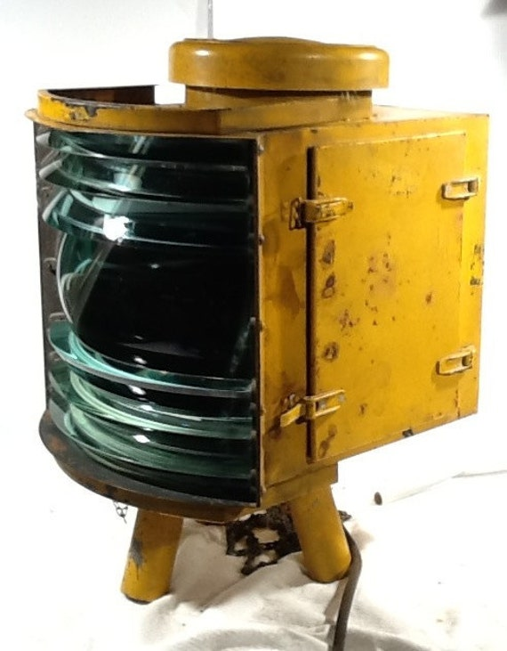 Industrial Fresnel Airport Portable Flood Light: 15 by OldDocBrown