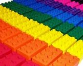 Build Your Own Set of 25 Building Brick Crayons - Lil Doodlers (tm)