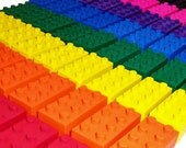 Build Your Own Set of 15 Building Brick Crayons - Lil Doodlers (tm)