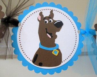Scooby Doo Happy Birthday Party Banner
