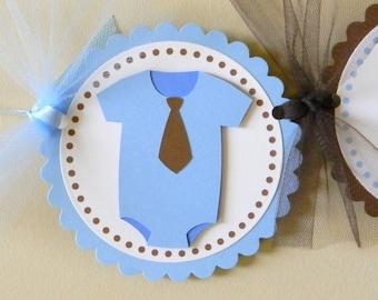 handmade ONESIE baby shower party banner