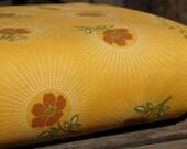 SALE-Joel Dewberry - Deer Valley- Floral Drop in Goldenrod-LAST YARD