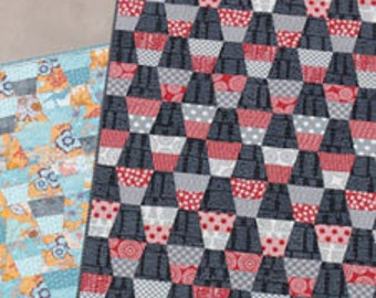 SALE - Teacups Quilt Pattern- Jaybird Quilts