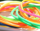 16 Multi-Colored Jelly Bands