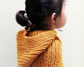 Kids' cape with hood, Riding hood for kids, Custom orders for kids knits.
