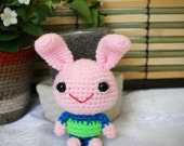 bunbun amigurumi rabbit doll