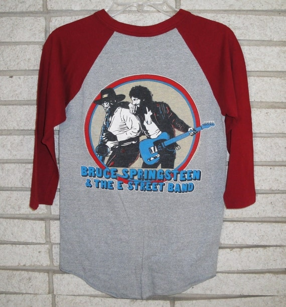 Bruce Springsteen and the E Street Band World Tour 1980 - 81 Concert T Shirt