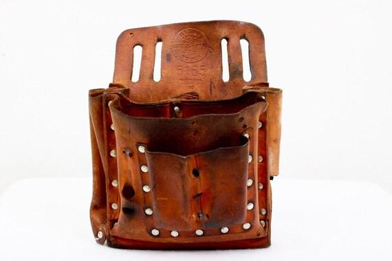 Vintage Klein Leather Tool Bag