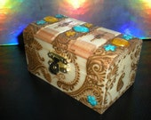 Reserved for LADYWINTERMUTE - Henna Trinket Box plus 2 surprise boxes
