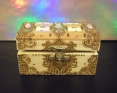 Reserved for LADYWINTERMUTE - Henna Trinket Box