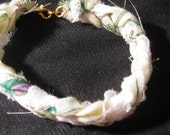 Butterfly Bracelet with White Lace