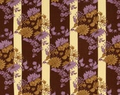 Tina Givens - Treetop Fancy - Stepping Stones in Eggplant cotton quilting fabric - BTY