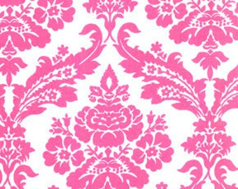 Tanya Whelan - Darla - Picnic Damask in Pink - cotton quilting fabric BTY