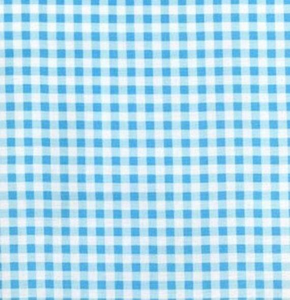 Tanya Whelan - Darla - Gingham in Blue - BTY