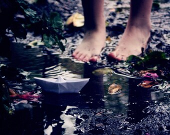 Once Upon a Rainy Day - 8x10 Fine Art Photograph