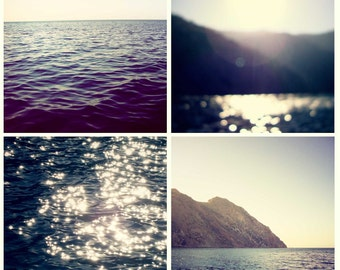 Catalina Island - Set of Four 5x5 Photographs
