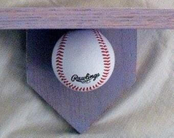 Baseball Shelf Blue