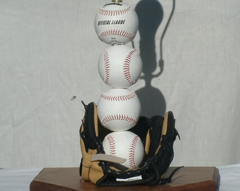 Table Lamp, Baseball Theme great for the man cave
