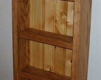Spice Rack, perfect for the end of the cabinet. Different sizes are available.