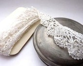 Antique French Cluny Lace