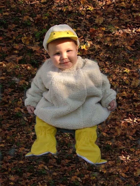 Adorable Little Duck Costume Toddler