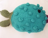 Taliz the Fish Stuffed Toy - PDF Knitting Pattern