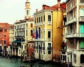 Italy Photography- Venice Grand Canal 8x10 Print- Travel Photography- Home Decor