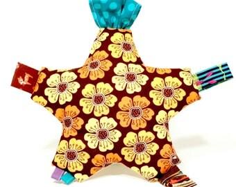 Teetoo Baby Star- Flowers and Polka Dots