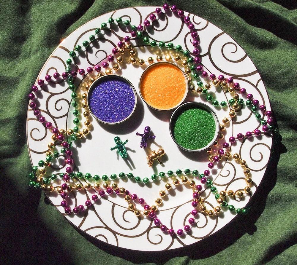 King Cake Decorating Kit for Mardi Gras