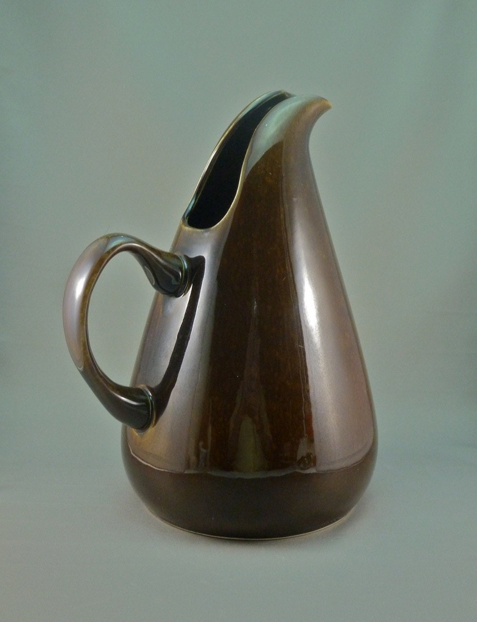 Russel wright american modern tall water jug aka pitcher - Russel wright pitcher ...