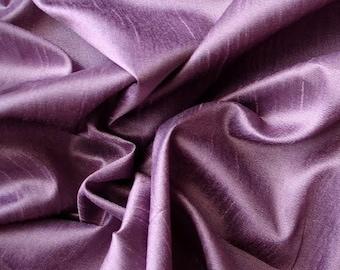 Violet Art Silk Fabric By The Yard Silk Curtain Fabric Apparel Fabric Silk Dupioni Fabric Indian Silk Fabric By The Yard