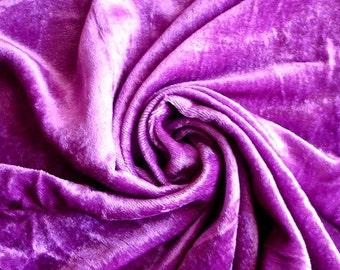 Violet Velvet Fabric Yardage Commercial Fabric Curtain Fabric Fashion Velvet Upholstery Fabric Decorative Fabric Window Treatment Fabric